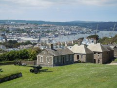 View from Pendennis Castle, Falmouth - 27/05/2014