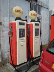 Petrol is cheap in St. Mawes - 28/05/2014